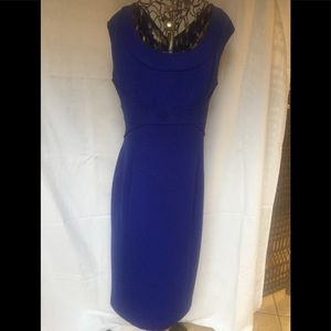 Maggy London royal blue dress